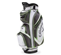 Callaway Golf Chev Organiser Cart Bag 2014 (White/Lime/Charcoal)