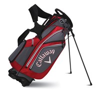 Callaway Golf Chev Stand Bag 2014 (Charcoal/Red)