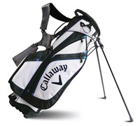 Callaway Golf Chev Stand Bag 2014 (White/Charcoal)