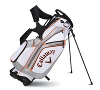 Callaway Golf Chev Stand Bag 2014 (White/Grey/Orange)