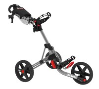 Clicgear 3.5+ 3-Wheel Trolley Cart (Matt Grey/Black)