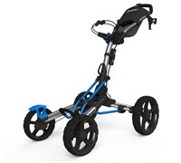 Clicgear 8.0 4-Wheel Trolley Cart 2014 (Silver/Blue)