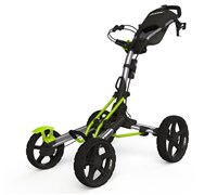 Clicgear 8.0 4-Wheel Trolley Cart 2014 (Silver/Lime)