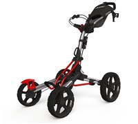 Clicgear 8.0 4-Wheel Trolley Cart 2014 (Silver/Red)