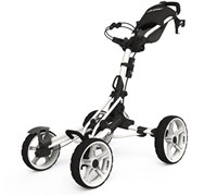 Clicgear 8.0 4-Wheel Trolley Cart 2014 (White)