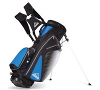Adidas Golf Clutch Stand Bag (Blue/White/Black)