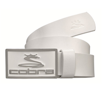 Cobra Enamel Fitted Belt 2014 (White)