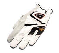 Callaway Comfort Tech Golf Gloves (White/Black)