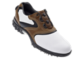 FootJoy Mens Contour Series BOA Golf Shoes (White/Antique Brown/Black) 2012