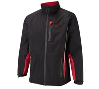 Cypress Point Mens Waterproof Rain Suit 2014 (Black/Red/White)