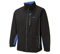 Cypress Point Mens Waterproof Rain Suit 2014 (Black/Royal/White)