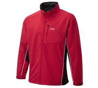 Cypress Point Mens Bonded Soft Shell Lined Jacket 2014 (Red/Black)