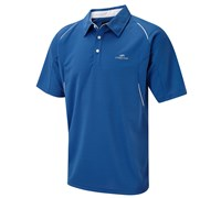 Cypress Point Mens Cut and Sew Golf Polo Shirt 2014 (Electric Blue)