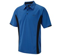 Cypress Point Mens Point Pique Polo Shirt 2014 (Electric Blue)