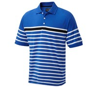 Cypress Point Mens Striped Polo Shirt 2014 (Royal)