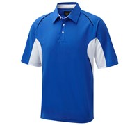 Cypress Point Mens CoolPass Cut and Sew Polo Shirt 2014 (Royal)