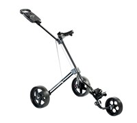 Callaway 3 Wheel Push Trolley Cart (Black)