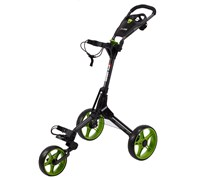 Cube Golf Push/Pull Trolley (Black/Green)