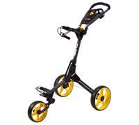 Cube Golf Push/Pull Trolley (Black/Yellow)