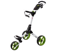 Cube Golf Push/Pull Trolley (White/Green)