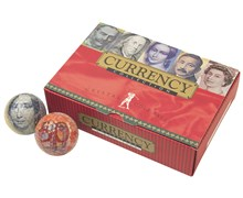 Currency Golf Balls  6 Balls