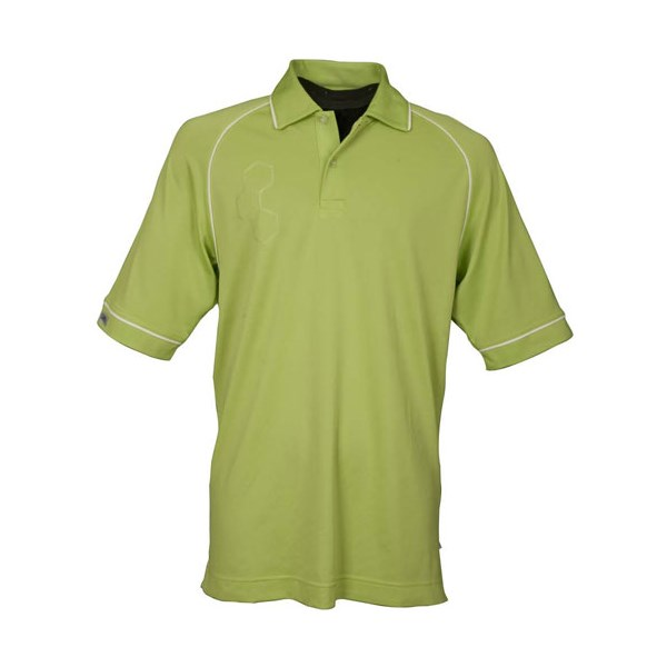 Callaway 2 button polo shirt mens for Polo shirts without buttons