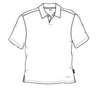 Callaway Golf Mens Sumatra Dry-Tech 1 Button Polo Shirt (White)
