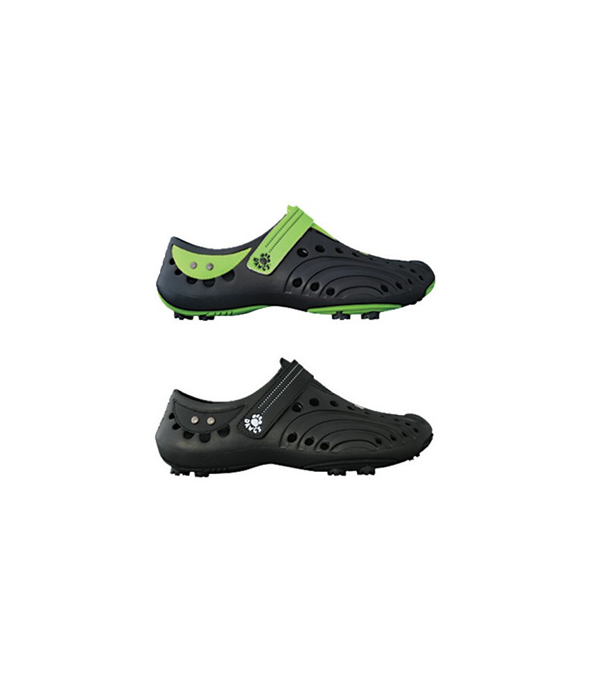 Dawgs Golf Spirit Shoes - Womens White/Lime Green at InTheHoleGolf.com