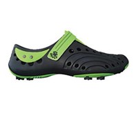 Dawgs Boys Spirit Golf Shoes (Navy/Lime)