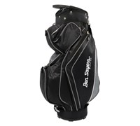 Ben Sayers Deluxe Cart Bag 2014 (Black/Silver)