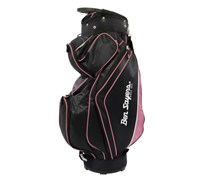 Ben Sayers Deluxe Cart Bag 2014 (Black/Pink)