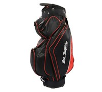 Ben Sayers Deluxe Cart Bag 2014 (Black/Red)
