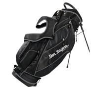 Ben Sayers Deluxe Stand Bag 2014 (Black/Silver)