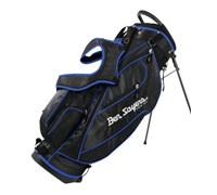Ben Sayers Deluxe Stand Bag 2014 (Black/Blue)