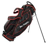 Ben Sayers Deluxe Stand Bag 2014 (Black/Red)