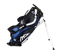 MD Golf Deluxe Stand Bag 2014 (White/Navy/Black)