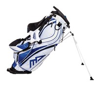 MD Golf Deluxe Stand Bag 2014 (Blue/White)