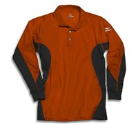 Mizuno Mens Warmalite Performance Shirt (Orange)