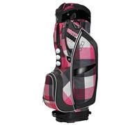 Ogio Ladies Duchess Cart Bag 2014 (Pink/Black/White)