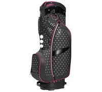 Ogio Ladies Duchess Cart Bag 2014 (Pink/Charcoal)