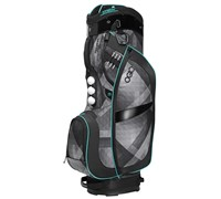 Ogio Ladies Duchess Cart Bag 2014 (Black/Charcoal/Blue )