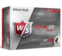 Wilson Staff DX2 Soft Golf Balls   12 Balls