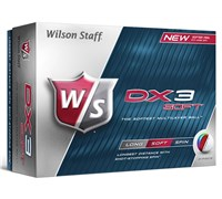 Wilson Staff DX3 Soft Golf Balls   12 Balls