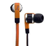 Puma El Diego In Ear Headphones + Mic (Vibrant Orange)