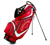 Callaway Euro Chev Stand Bag 2013 (Red/White)