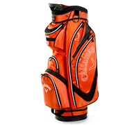 Callaway Euro Chev Organisor Cart Bag 2013 (Orange/Black)