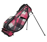 Ogio Ladies FeatherLite Luxe Stand Bag 2014 (Pink/Black/White)