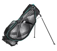 Ogio Ladies FeatherLite Luxe Stand Bag 2014 (Black/Charcoal/Blue )