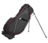 Ogio Ladies FeatherLite Luxe Stand Bag 2014 (Black/Pink)