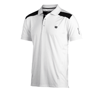 Wilson Staff Mens FG Tour V2 Tech Polo Shirt 2013 (White)